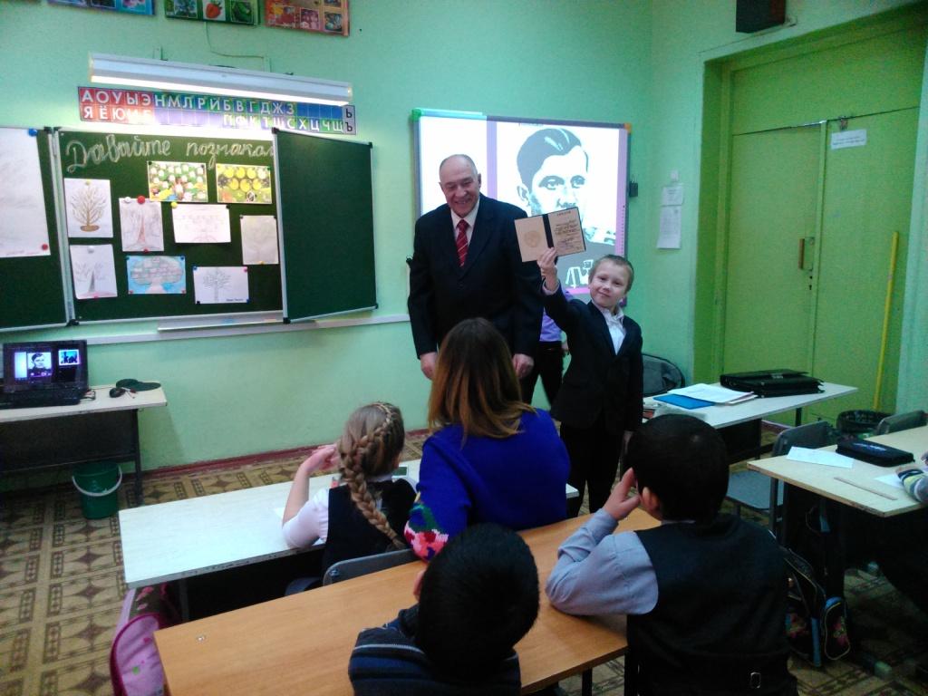 Зайцев Евгений Дмитриевич со своим правнуком Собченко Марком